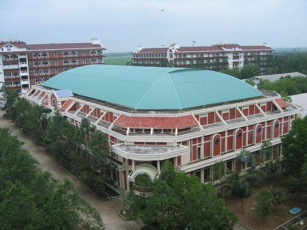 Bangunan Megah Ma'had Al Zaytun, Indramayu